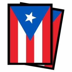 50ct Puerto Rico Standard Deck Protectors