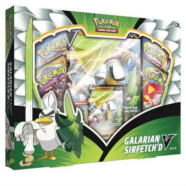 Pokemon TCG Galarian SirfetchD V Box