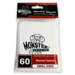 Monster Logo Sleeves: White