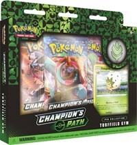 Pokemon TCG - Champions Path Pin Collection - Turffield Gym