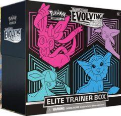 Pokemon TCG - Evolving Skies Elite Trainer Box [Glaceon/Vaporeon/Sylveon/Espeon]