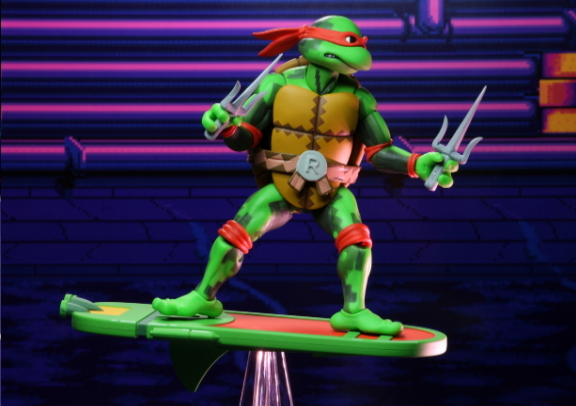 """TMNT: Turtles in Time – 7"""" Scale Action Figures – Series 2: Raphael"""