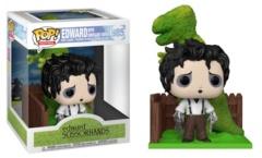 #985 Edward Scissorhands with Dinosaur Shrub