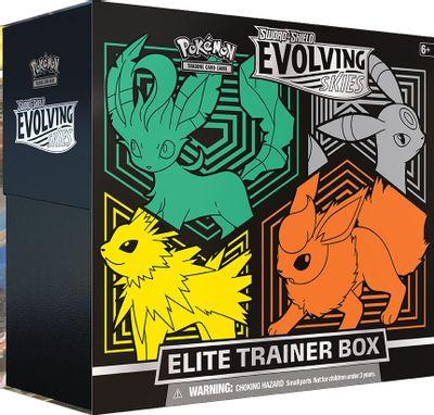 Pokemon TCG - Evolving Skies Elite Trainer Box [Flareon/Jolteon/Umbreon/Leafeon]