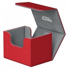 Ultimate Guard Sidewinder XenoSkin 100+ Deckbox - Red