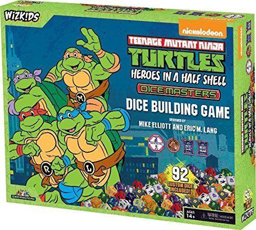 Dice Masters - Teenage Mutant Ninja Turtles Heroes in a Half Shell - Starter Pack