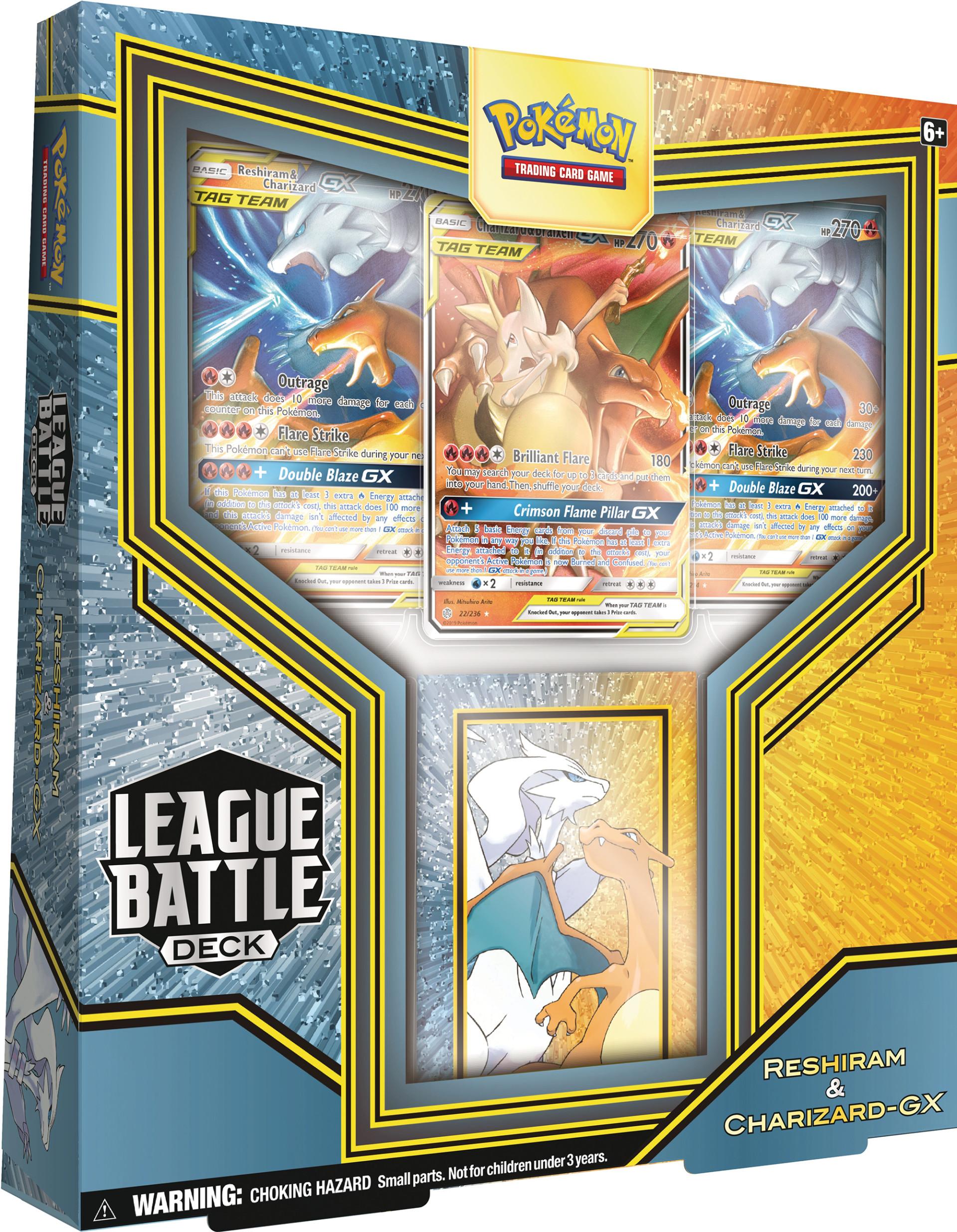 League Battle Decks [Reshiram & Charizard GX]