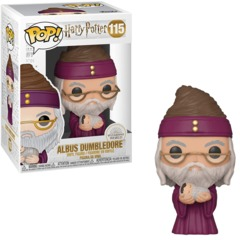 #115 Harry Potter - Albus Dumbledore w/Baby Harry