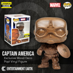 Marvel Captain Amercia (Wood) EE Exclusive