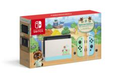 NIntendo Switch Console - Animal Crossing Special Edition