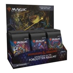 Magic the Gathering: Dungeons & Dragons Adventures in the Forgotten Realms Booster Box