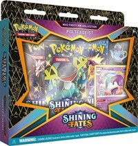 Pokemon TCG Shining Fates Mad Party Pin Collection - Polteageist