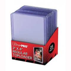 Ultra Pro: Regular Top Loader (3 x 4) - 25ct