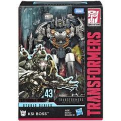 Transformers Studio Series Premier Voyager: KSI Boss