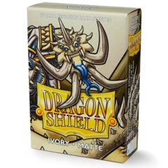 Dragonshield Sleeve Small Size Matte: Ivory