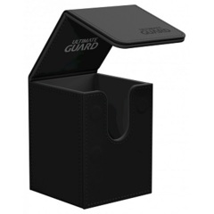 Ultimate Guard 100+ Flip Deck Case Leatherette - Black
