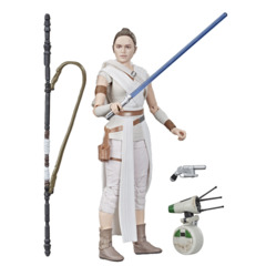 Star Wars The Black Series(First Edition): Rey & D-0