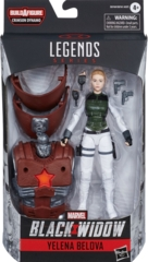 Marvel Legends: Yelena Belova (Crimson Dynamo BAF)