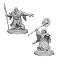 D&D Nolzur's Marvelous Miniatures: Dwarf Wizard