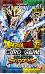 DBS Series 7 Assault of the Saiyans Booster Pack