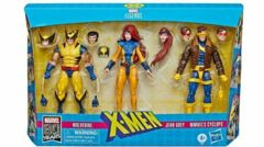 Marvel Legends X-Men Jean Grey, Cyclops, and Wolverine 3-Pack - Exclusive