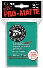 Ultra Pro PRO-Matte Standard Sleeves - Aqua (50ct)