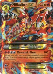 Mega-Blaziken-EX - XY86 - Mega Blaziken-EX Premium Collection
