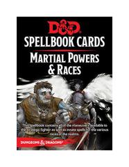 Spellbook Cards: Martial Powers & Races