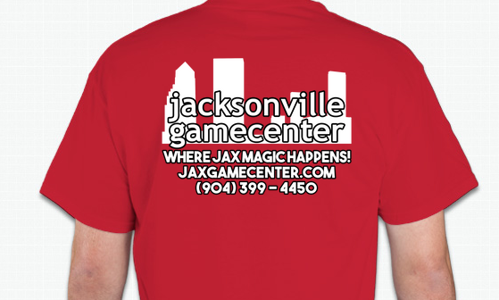 Game Center T-Shirt (Black, Red or Blue)