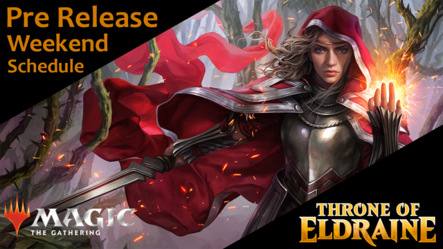 Magic the Gathering - Throne of Eldraine - FNM - Pre-Release