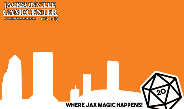 Jax Game Center Playmat (Different Colors Available)