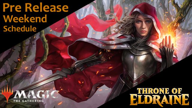 Magic the Gathering - Throne of Eldraine - Saturday - 2HG