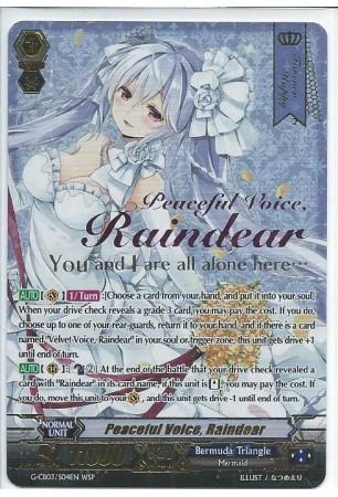 Peaceful Voice, Raindear - G-CB03/S04EN - WSP