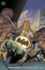 Gotham City Monsters #1 (Of 6) Var Ed (STL130190)
