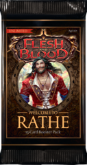 Flesh And Blood: Welcome to Rathe Unlimited Edition Booster Pack