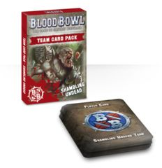 Blood Bowl - Shambling Undead Card Pack