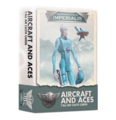 Aeronautica Imperialis:Aircraft & Aces T'Au Air Caste Cards