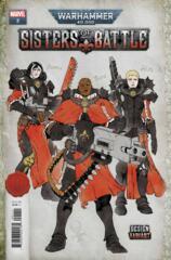 Warhammer 40K Sisters Battle #2 (Of 5) Salazar Design Var 1:10 Incentive
