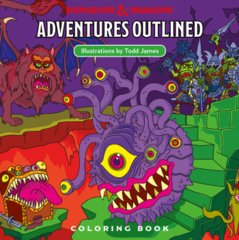Adventures Outlined (Coloring Book)