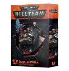 Kill Team: Gaius Acastian Deathwatch Commander Set (FR)