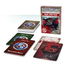 Blood Bowl - Team Card Pack – Orc Team