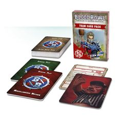 Blood Bowl - Team Card Pack – Elven Union