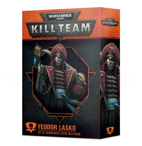 Kill Team: Feodor Lasko Astra Militarum Commander Set (FR)