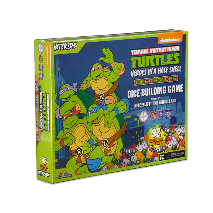 Dicemaster Teenage Mutant Ninja Turtles Heroes in a Half Shell Box Set