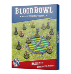 Blood Bowl:Halfling Team Pitch & Dugouts