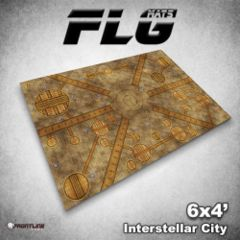 FLG Mats: Interstellar City 6x4'