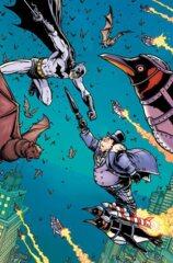 Gotham City Villains Anniversary Giant #1 (One Shot) Cvr H Inc 1:50 Chris Burnham Card Stock Var