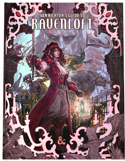 Van Richtens Guide to Ravenloft Alt Cover
