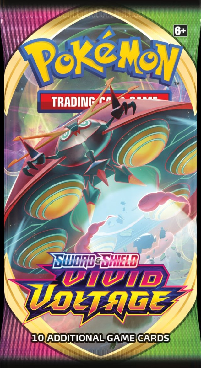 Sword & Shield - Vivid Voltage Booster Pack