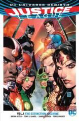 Justice League TPB Vol 1: The Extinction Machine (Rebirth)
